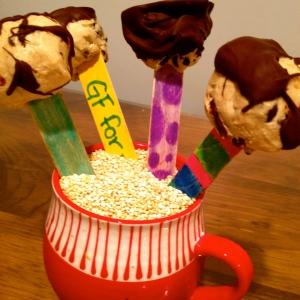 Cookie Dough Pops!