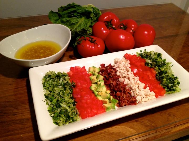 Our Homemade Cobb Salad