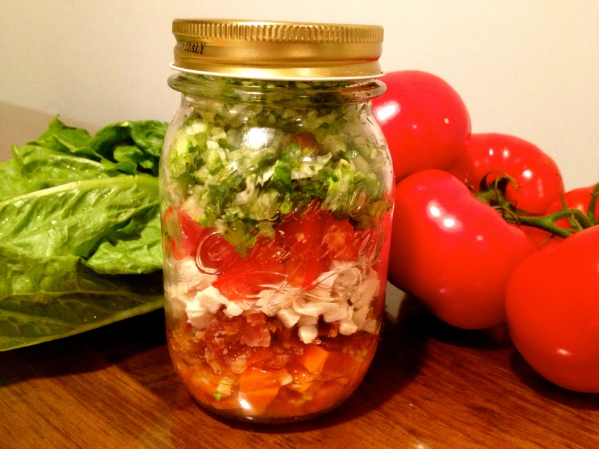 my favorite cobb salad (gluten and dairy free)