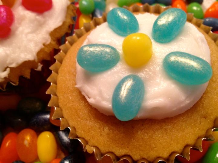 flower cupcake gluten free