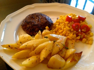Kid Friendly Meal with Parsnips