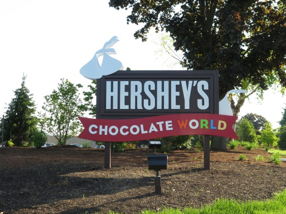 Hershey Park! Special even if you can't eat there.