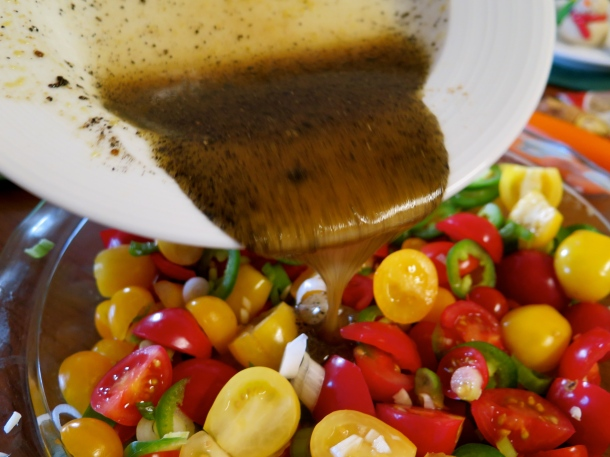Spicy Tomatoes (Gluten Free and Vegan)