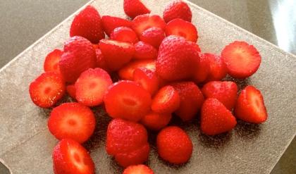 Chunky Strawberry Soup (GF, EF, DF)