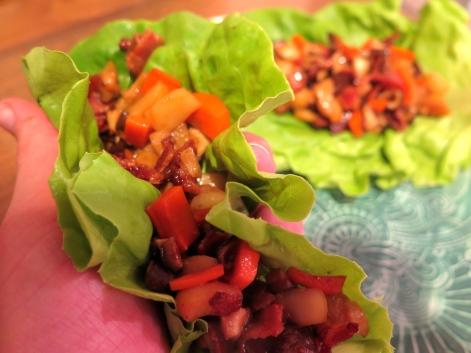 Bacon Lettuce Wraps (GF, DF, EF)
