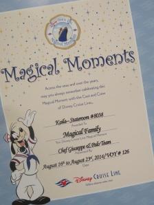 Palo Disney Fantasy Magical