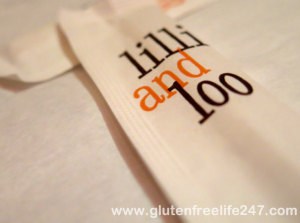 Gluten Free in NYC- Lilly and Loo