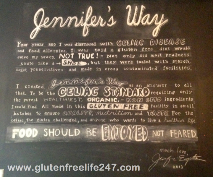 Gluten Free in NYC- Jennifer's Way