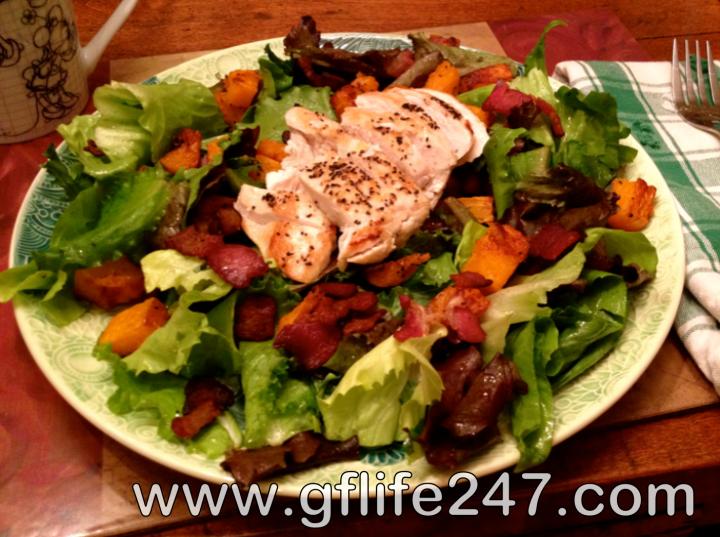 A Salad Suited for Dinner (GF, DF, EF)