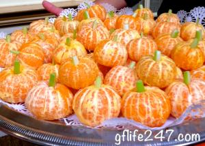 Three Fruity Halloween Treats (GF, V)