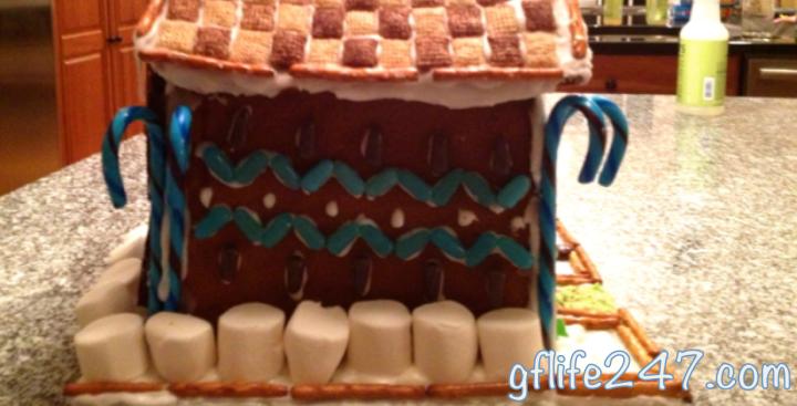Sturdy Gingerbread House (GF, DF, EF)