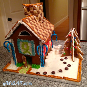 Sturdy Gingerbread House (GF, DF, EF)