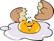 I passed my baked egg food challenge! (Image Courtesy of Clickr)