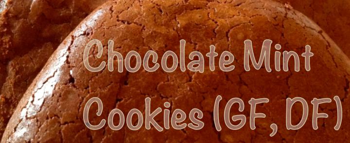 Chocolate Mint Cookies (GF, DF)