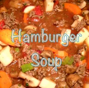 Hamburger Soup (GF, DF, EF)