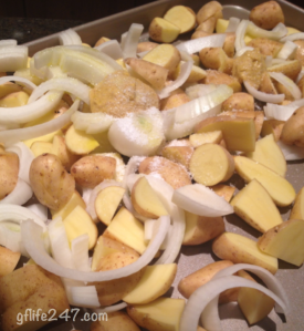 Mustard Roasted Potatoes (GF, V)