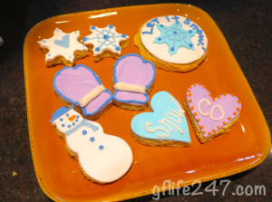Wintertime Sugar Cookies (GF, V)
