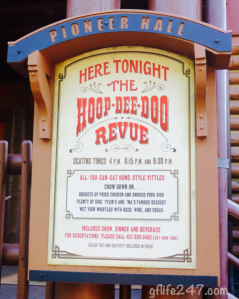 A Celiac at the Hoop-Dee-Doo Revue