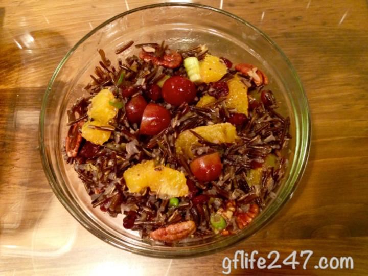 Citrus Wild Rice (GF, V)