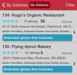 Finding Dedicated Gluten Free Spots!