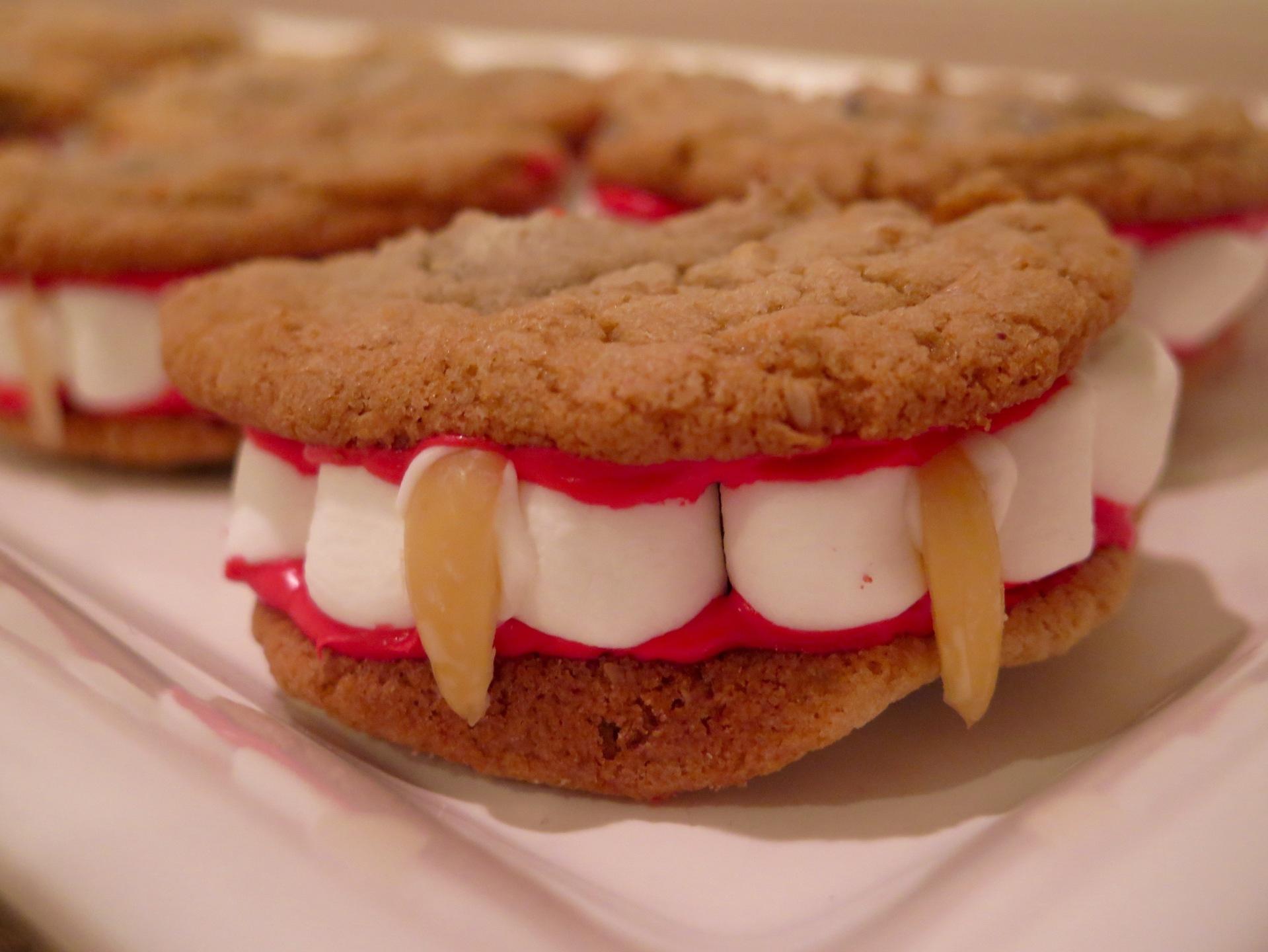 Vampire Cookies (gluten and dairy free)
