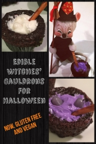 Cute, simple Halloween treat for those with celiac disease and/or certain food allergies.