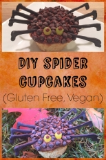 These gluten free cupcakes are so cute for Halloween! The decorations are free of the top 8 allergens too!