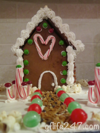 The Best Gluten Free Gingerbread House