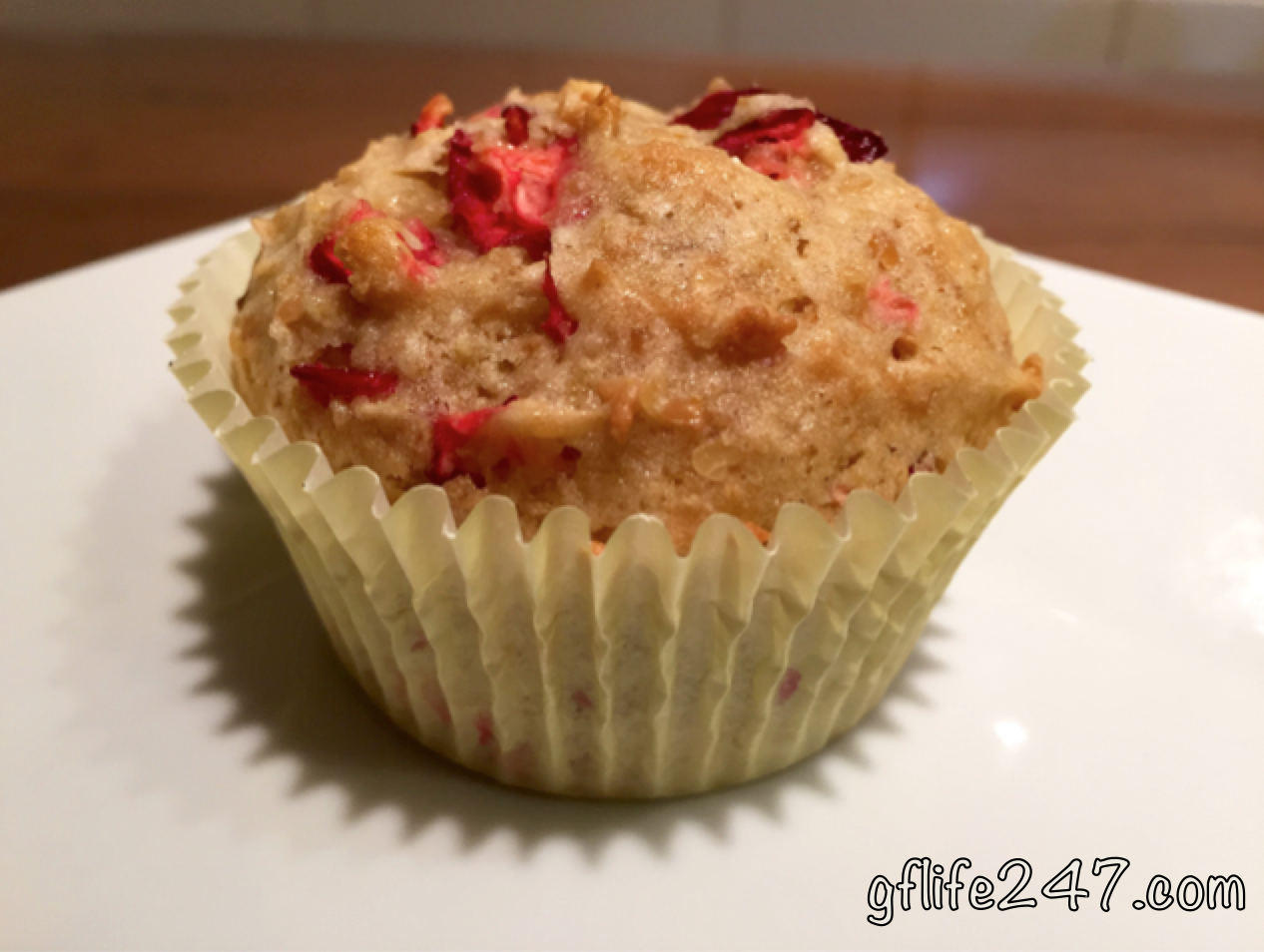 Cranberry Citrus Muffins Recipe (Gluten and Dairy Free)