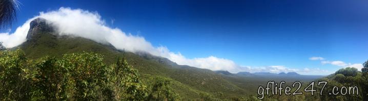 bluff's knoll western australia panorama