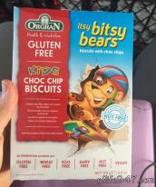 Oregan itsy bitsy bears gluten free