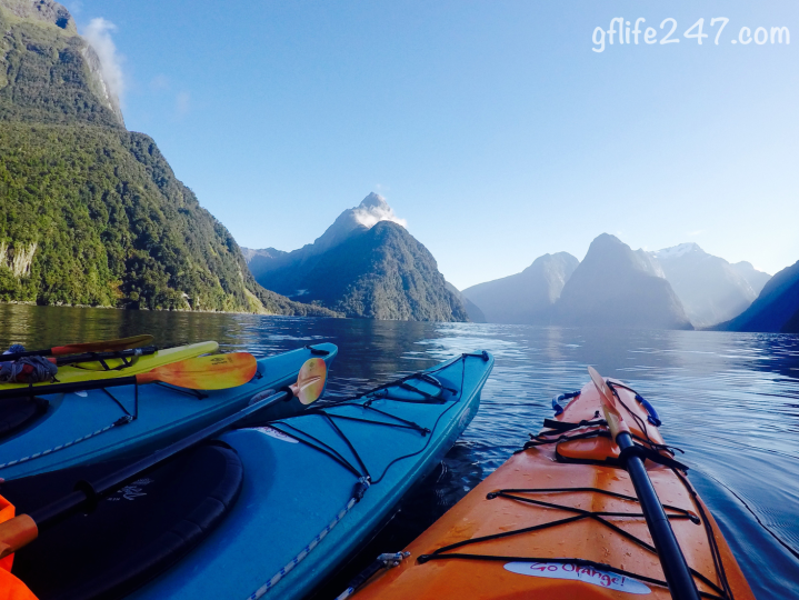 queenstown milford sound kayak