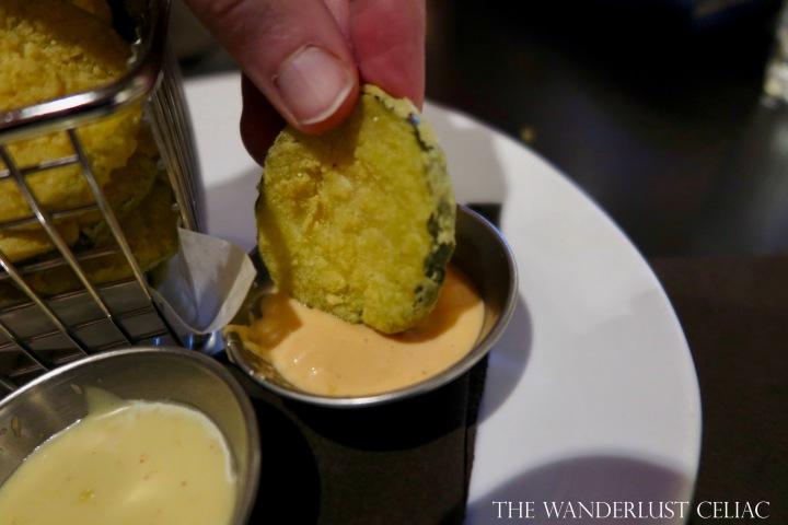 Crispy Fried Pickle Chips