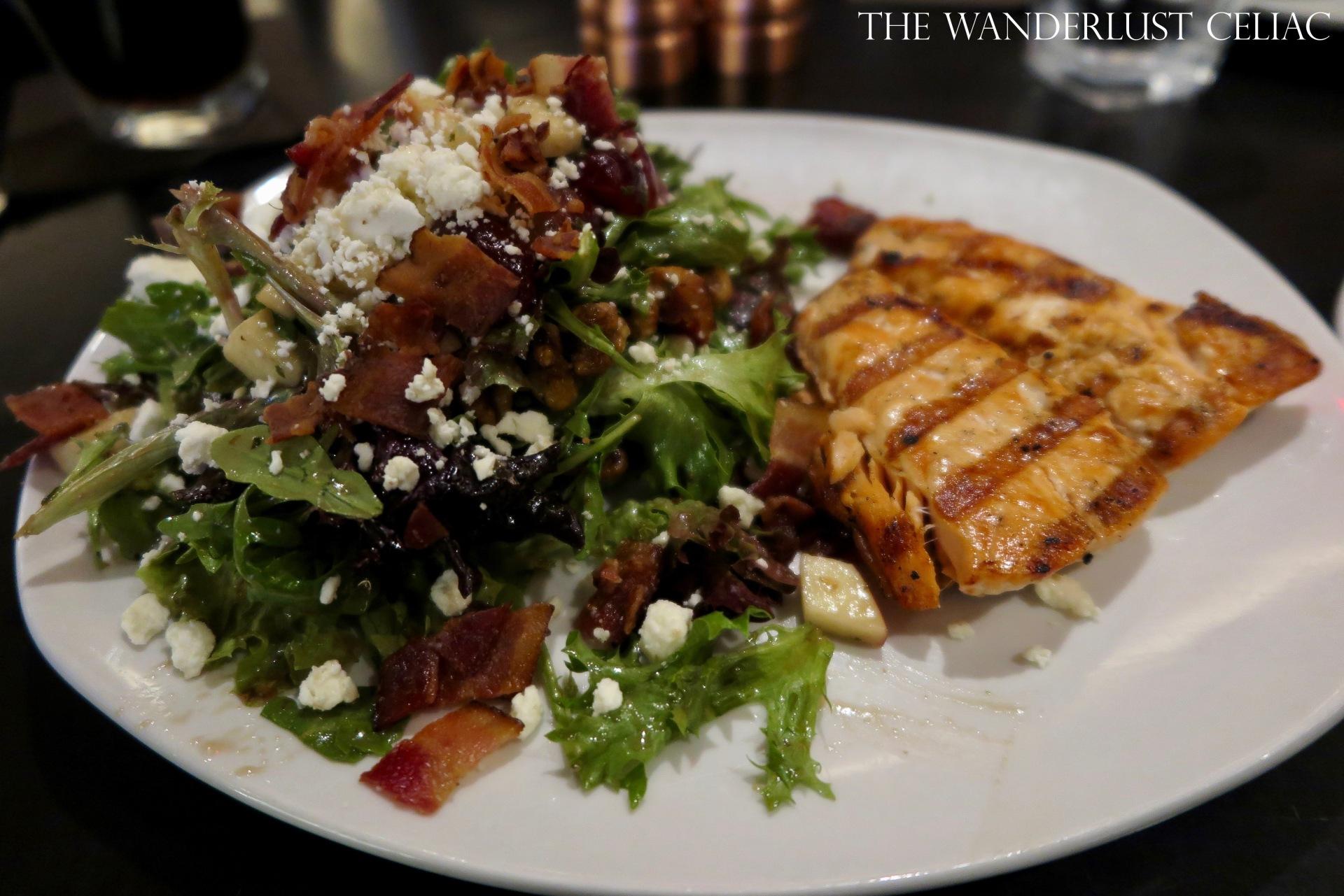 110 Seasonal Salad with Salmon