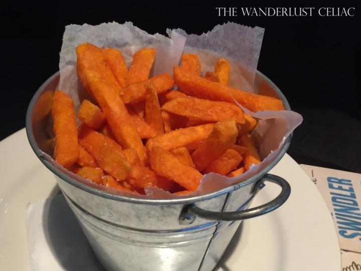 Gluten Free Sweet Potato Chips at Kewdale Tavern