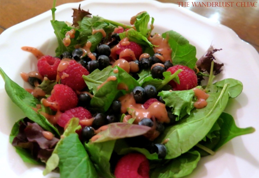 Homemade Raspberry Dressing