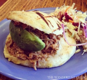 Gluten Free Arepas (Pica Pica- San Francisco)