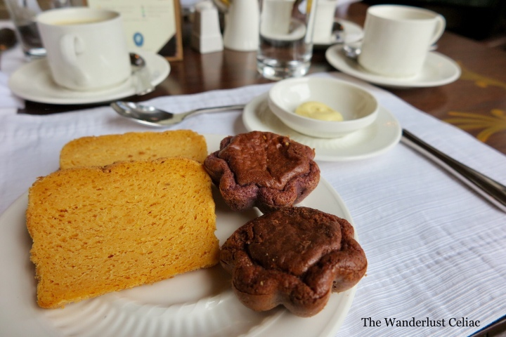 Gluten Free at Hotel Monasterio (Cusco, Peru)